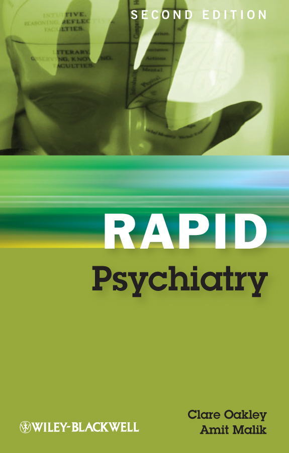Malik Amit Rapid Psychiatry ISBN: 9781118294192 vagueness in psychiatry