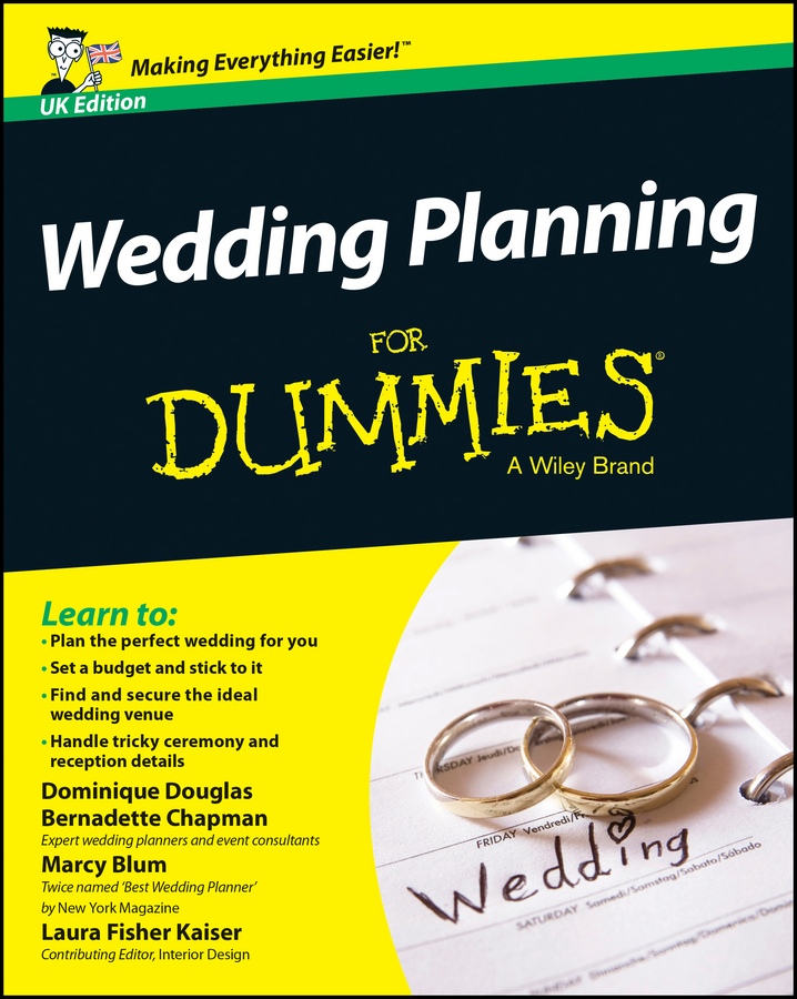Douglas Dominique Wedding Planning For Dummies susan sardone breslow destination weddings for dummies isbn 9780470229156