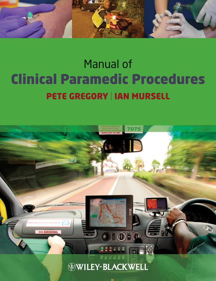 Mursell Ian Manual of Clinical Paramedic Procedures ISBN: 9781444307764 50pairs lot emergency supplies ecg defibrillation electrode patch prompt aed trainer accessories not for clinical use