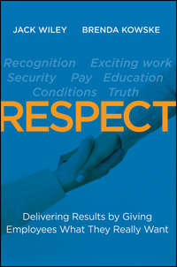 Wiley Jack - RESPECT. Delivering Results by Giving Employees What They Really Want