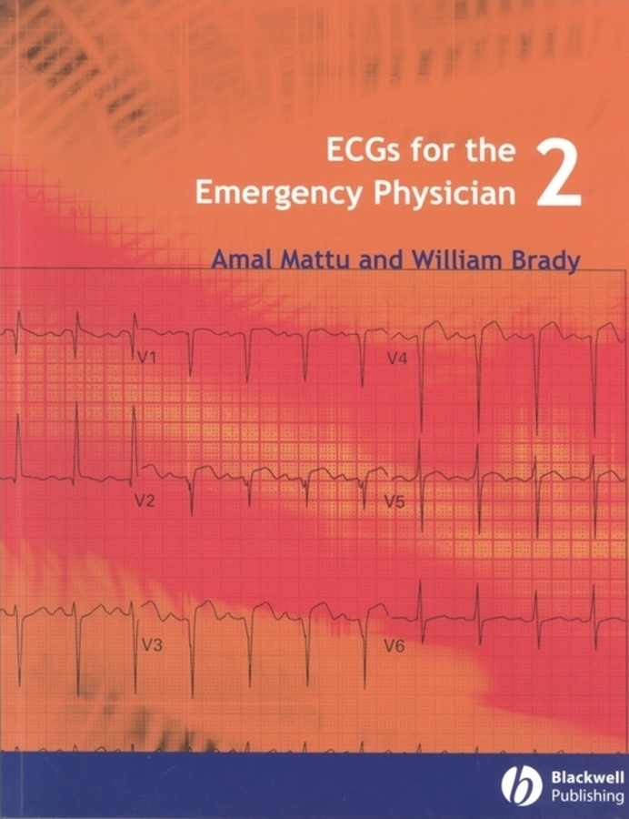 Brady William J. ECGs for the Emergency Physician 2 ISBN: 9781444312522 50pairs lot emergency supplies ecg defibrillation electrode patch prompt aed defibrillator trainer accessories not for clinical