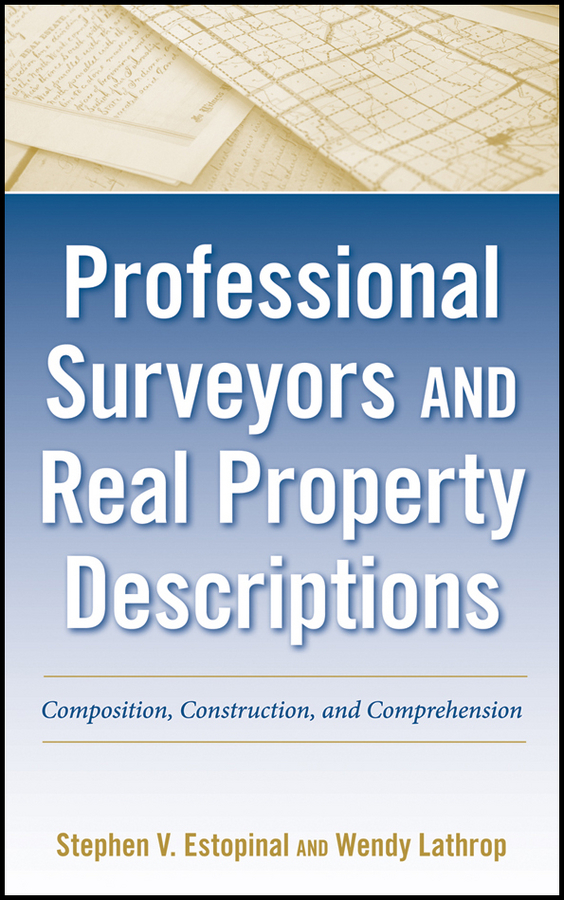 Estopinal Stephen V. Professional Surveyors and Real Property Descriptions. Composition, Construction, and Comprehension caravan caravan in the land of grey and pink