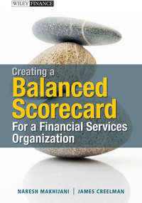 Creelman James - Creating a Balanced Scorecard for a Financial Services Organization