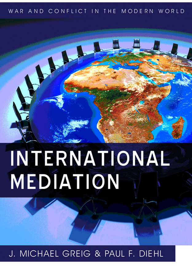 Diehl Paul F. International Mediation
