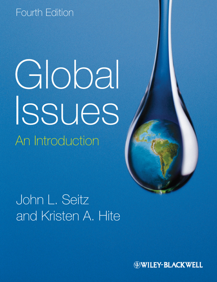 Seitz John L. Global Issues. An Introduction impact of water borne diseases on social and economic status