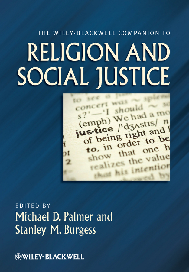 Burgess Stanley M. The Wiley-Blackwell Companion to Religion and Social Justice блузон двухцветный с капюшоном 8 16 лет page 2