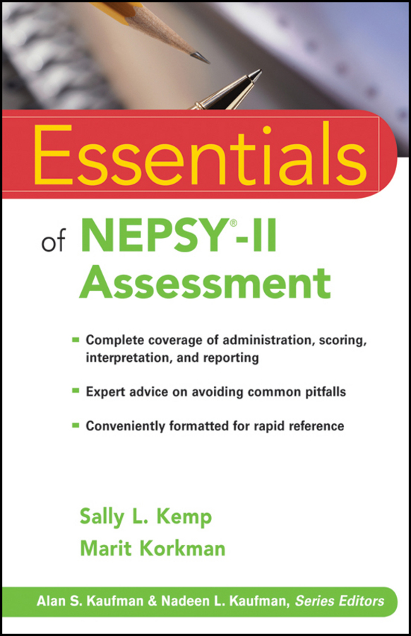 Kemp Sally L. Essentials of NEPSY-II Assessment assessment of surface integrity in grinding