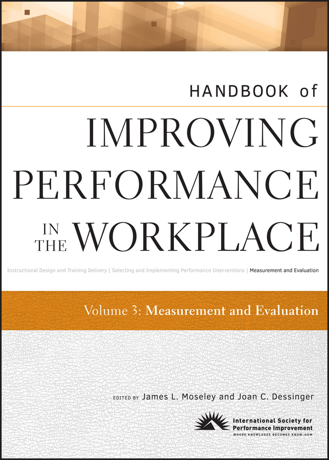 Moseley James L. Handbook of Improving Performance in the Workplace, Measurement and Evaluation ISBN: 9780470503997 performance evaluation of cryptographic algorithms