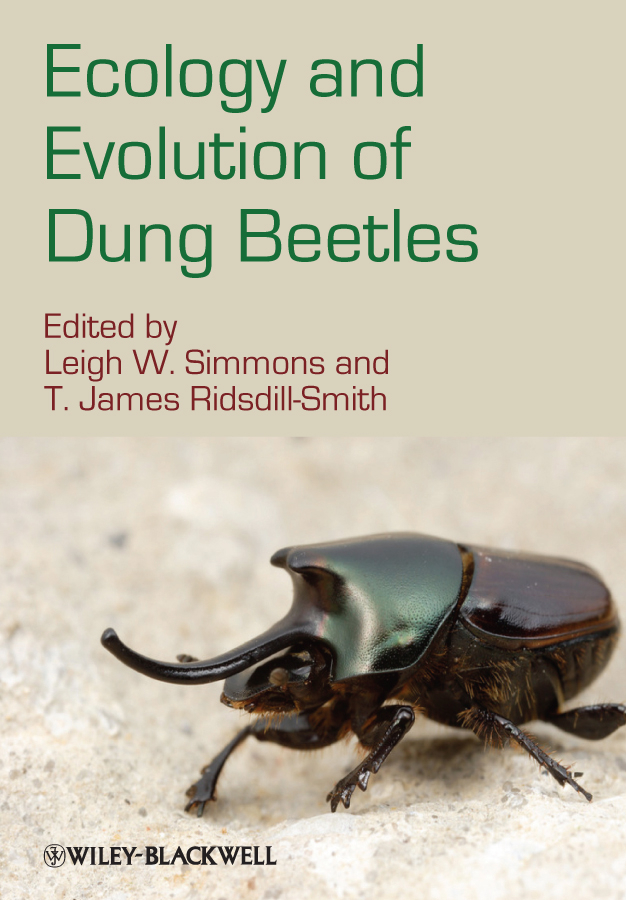Ridsdill-Smith T. James Ecology and Evolution of Dung Beetles gustavo caetano anollés evolutionary genomics and systems biology