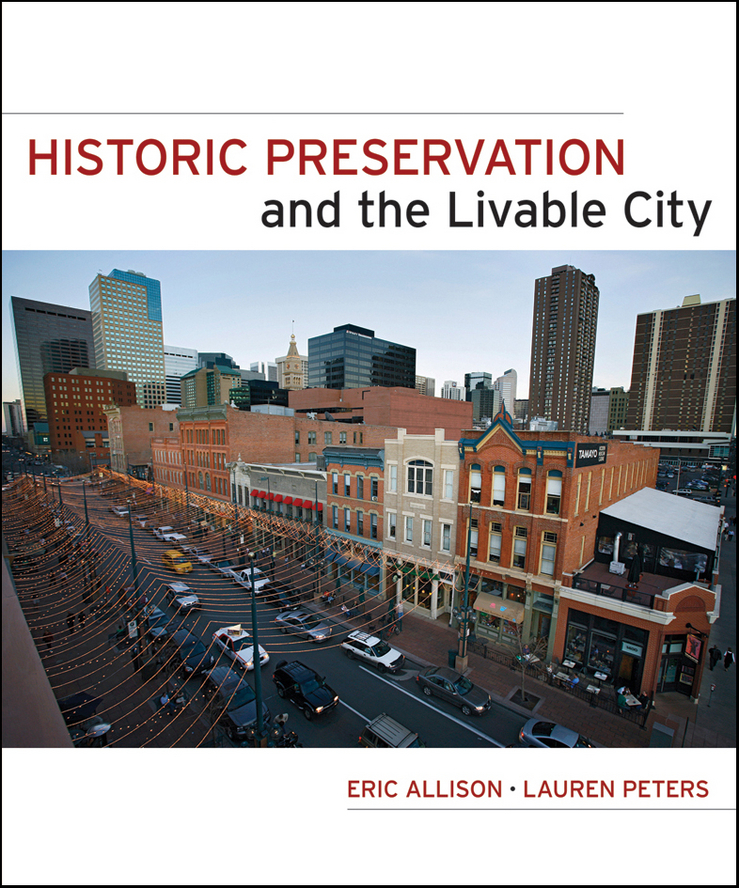 Peters Lauren Historic Preservation and the Livable City high pressure processing for the preservation of indian white prawn
