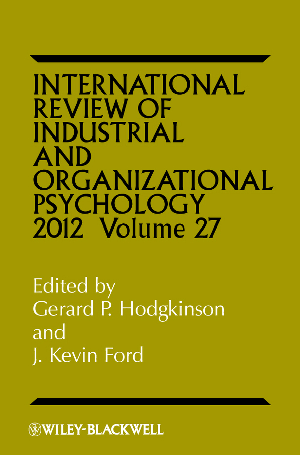 Ford J. Kevin International Review of Industrial and Organizational Psychology marxism and darwinism