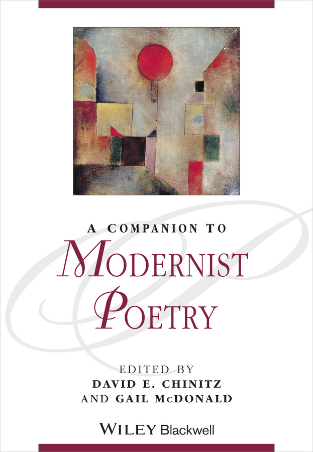 McDonald Gail A Companion to Modernist Poetry american poetry