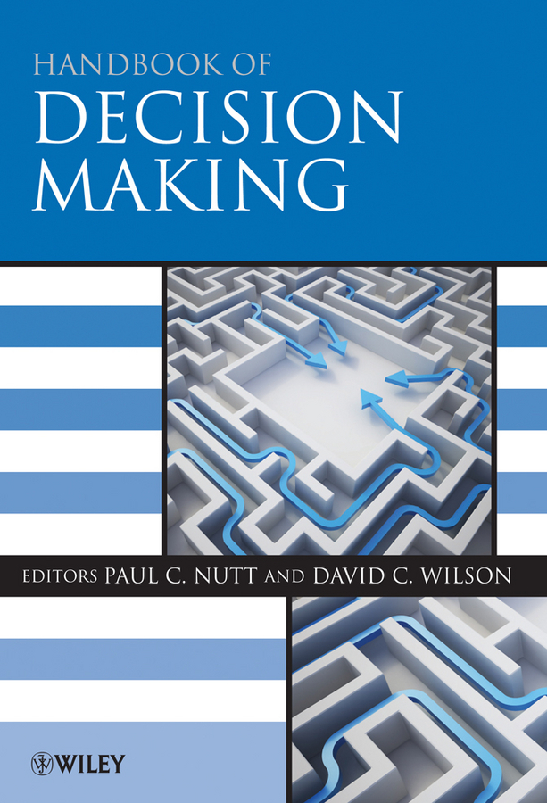 Nutt Paul C. Handbook of Decision Making gosney margot cancer and aging handbook research and practice