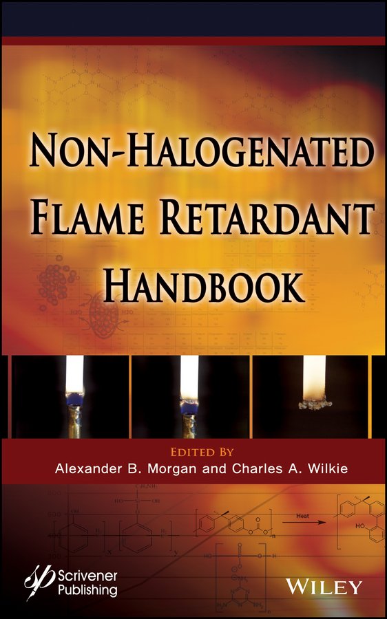 Wilkie Charles A. The Non-halogenated Flame Retardant Handbook free shipping stage led fire light flame projector 54x 10mm led silk fire flame light machine