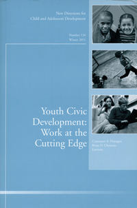Flanagan Constance A. - Youth Civic Development: Work at the Cutting Edge. New Directions for Child and Adolescent Development, Number 134