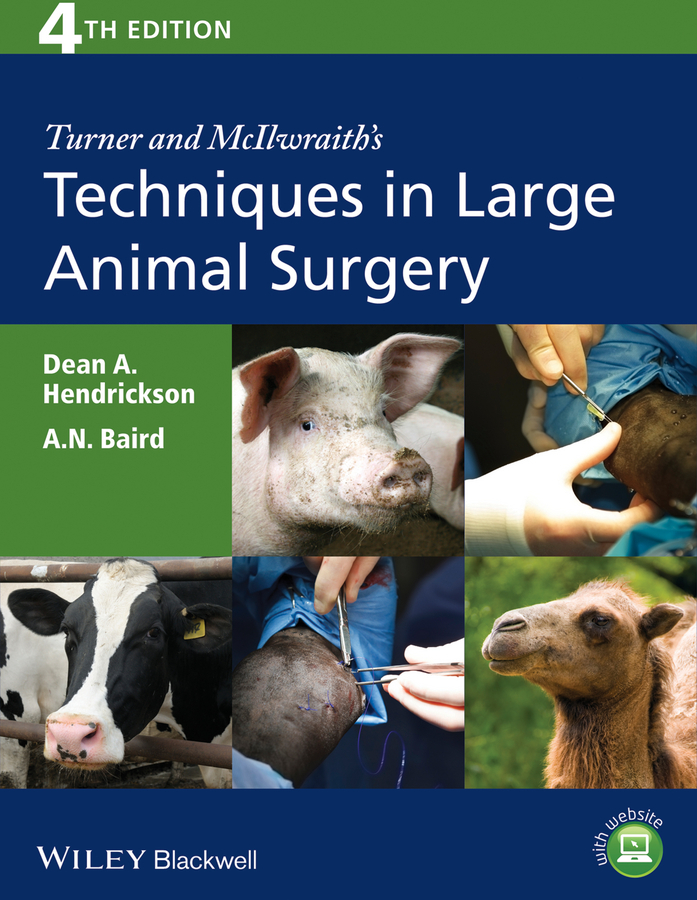 Hendrickson Dean A. Turner and McIlwraith's Techniques in Large Animal Surgery