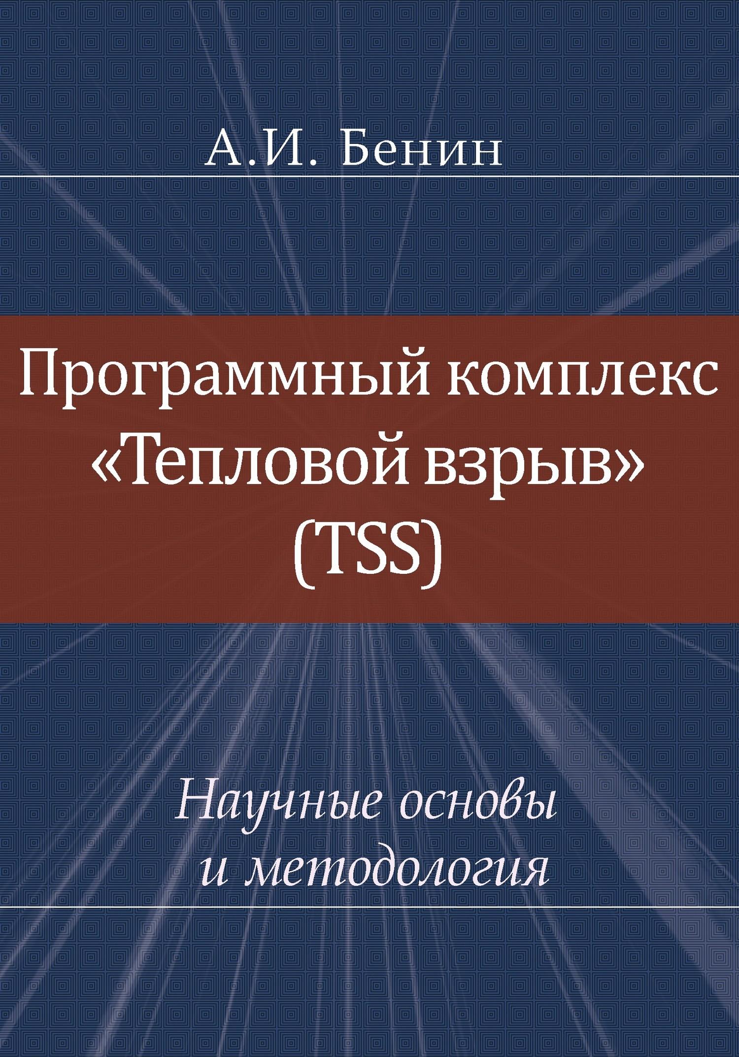 Обложка книги Программный комплекс «Тепловой взрыв« (TSS). Научные основы и методология, автор А. И. Бенин