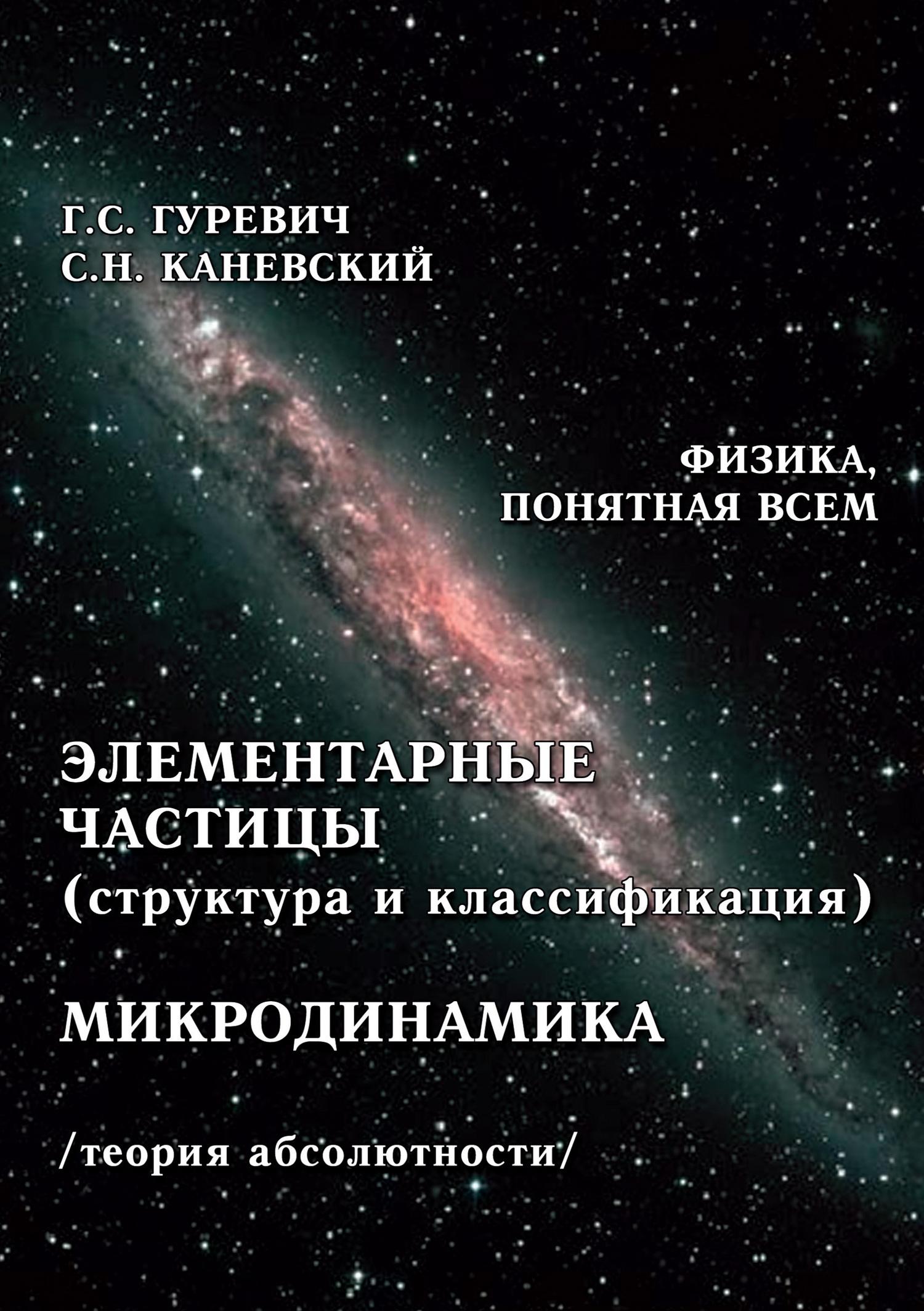 Г. С. Гуревич Элементарные частицы (структура и классификация). Микродинамика (теория абсолютности) элементарные частицы