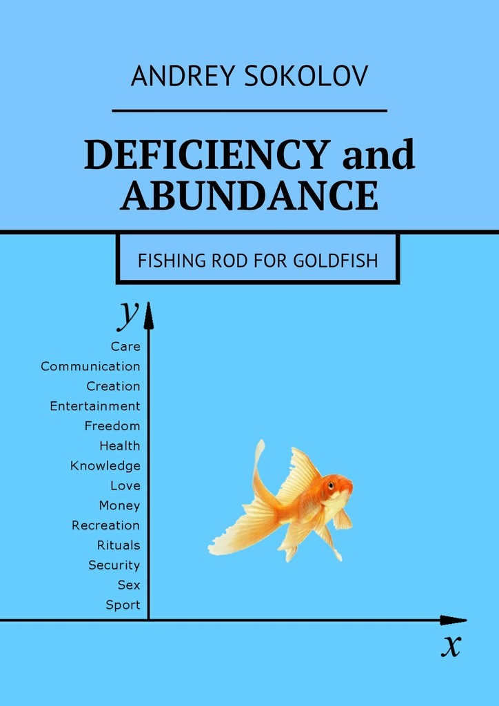 Deficiency and abundance. Fishing Rod for Goldfish