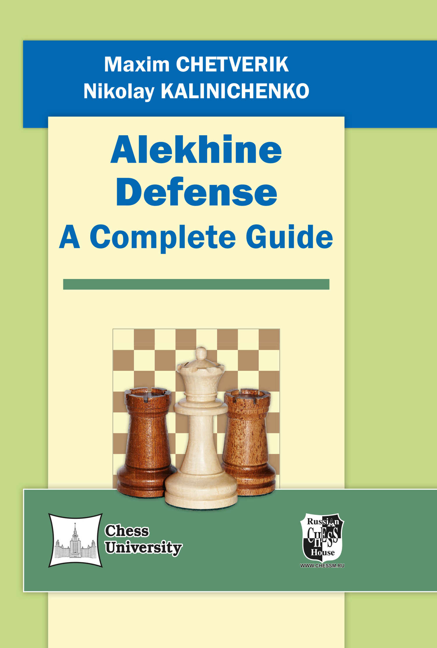 Alekhine Defense. A Complete Guide