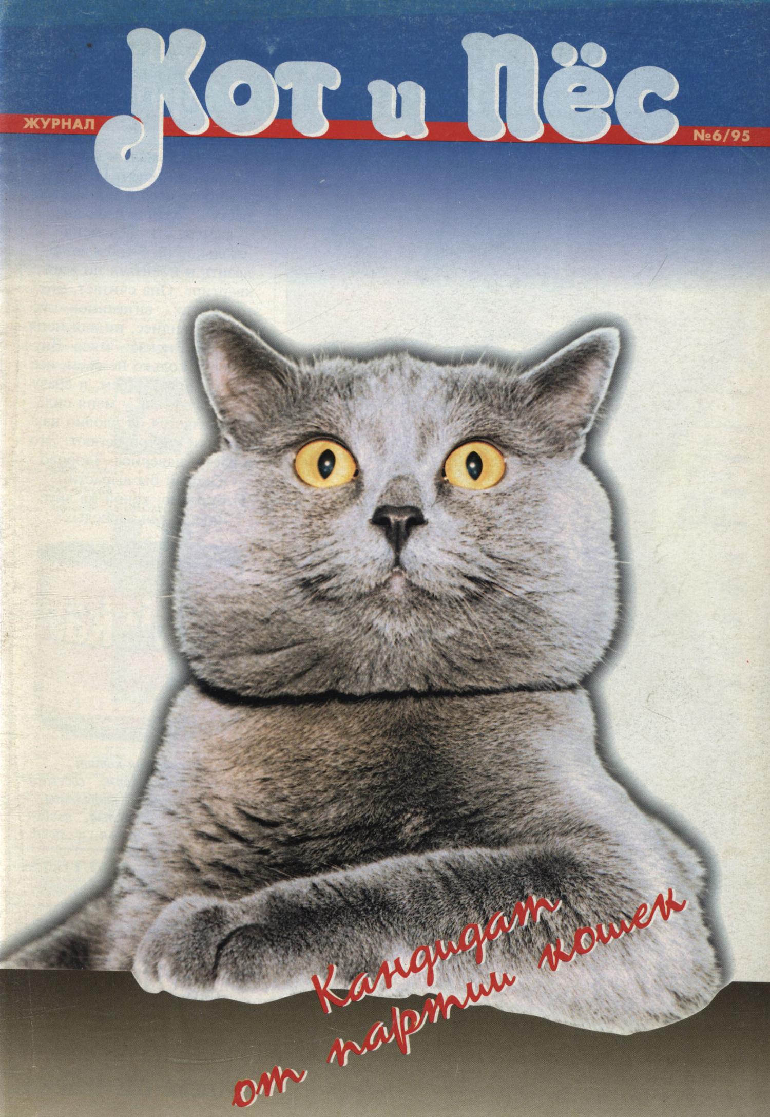 Кот и Пёс №06/1995