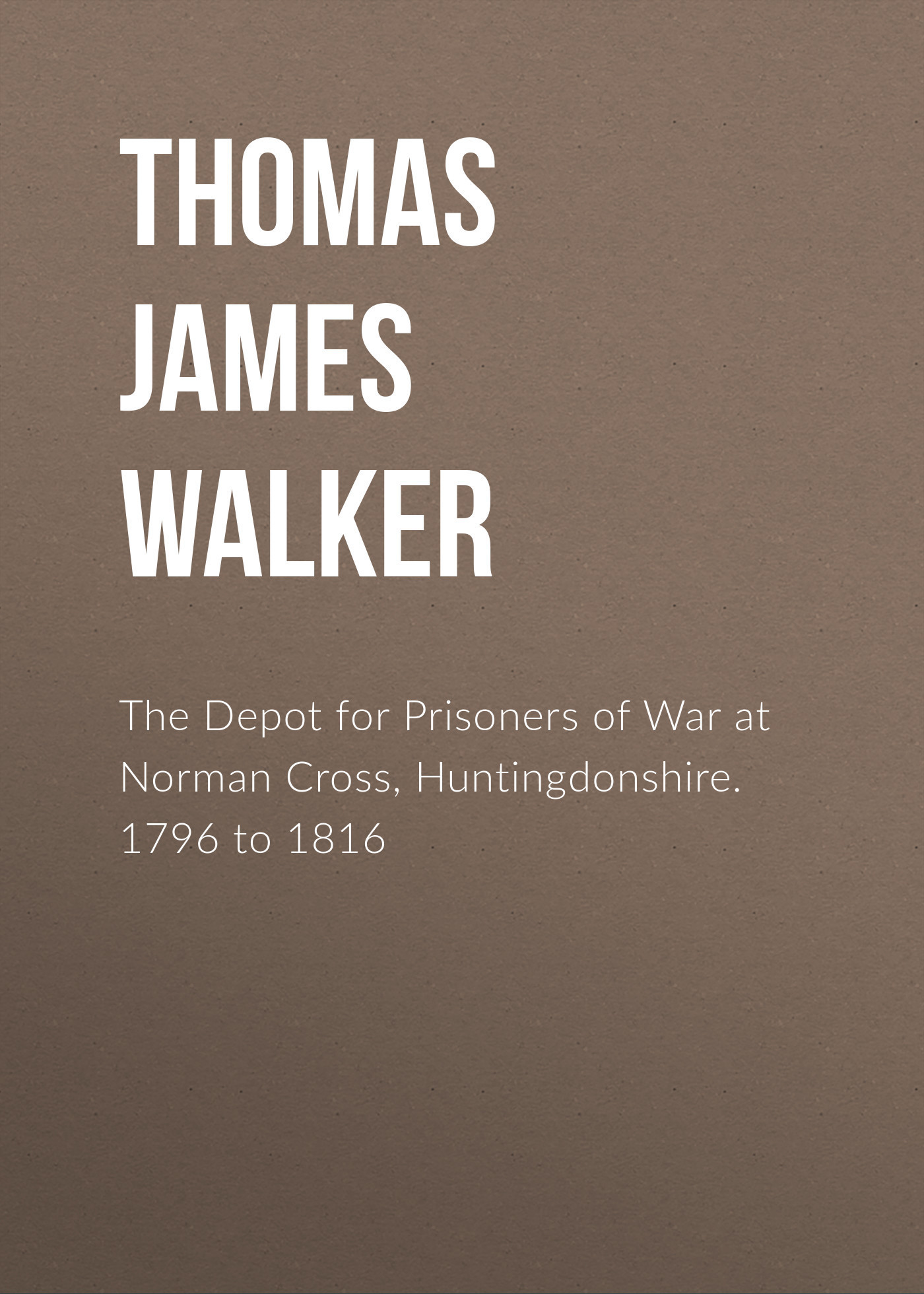 Thomas James Walker The Depot for Prisoners of War at Norman Cross, Huntingdonshire. 1796 to 1816 pair of vintage faux crystal cross shape earrings for women