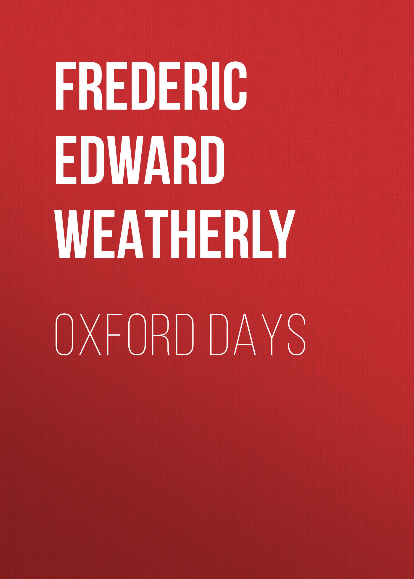 Oxford Days