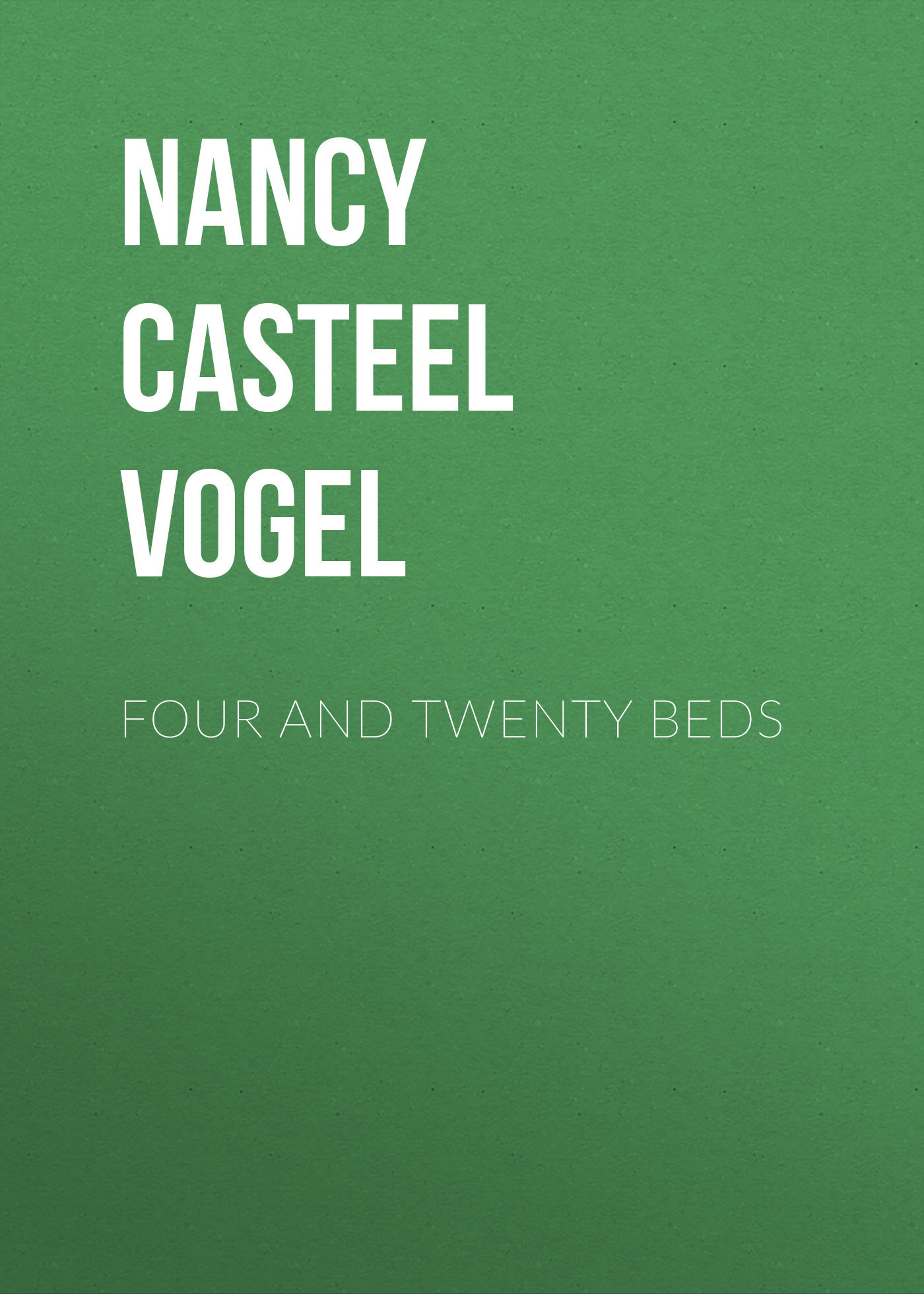 Nancy Casteel Vogel Four and Twenty Beds gesimondo nancy materiality and interior construction