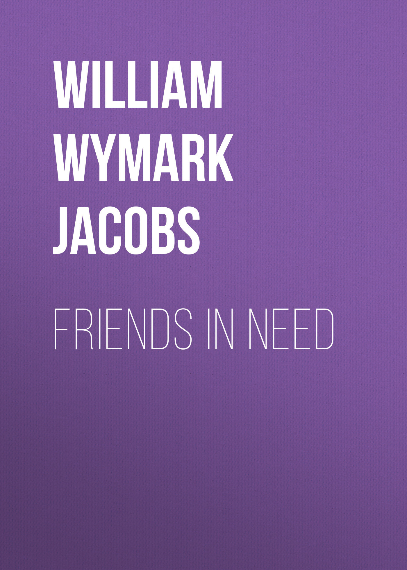 William Wymark Jacobs Friends in Need orthodontic treatment need in lithuania