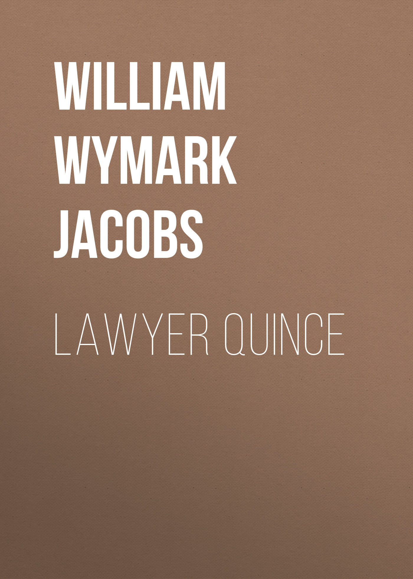 William Wymark Jacobs Lawyer Quince william wymark jacobs admiral peters