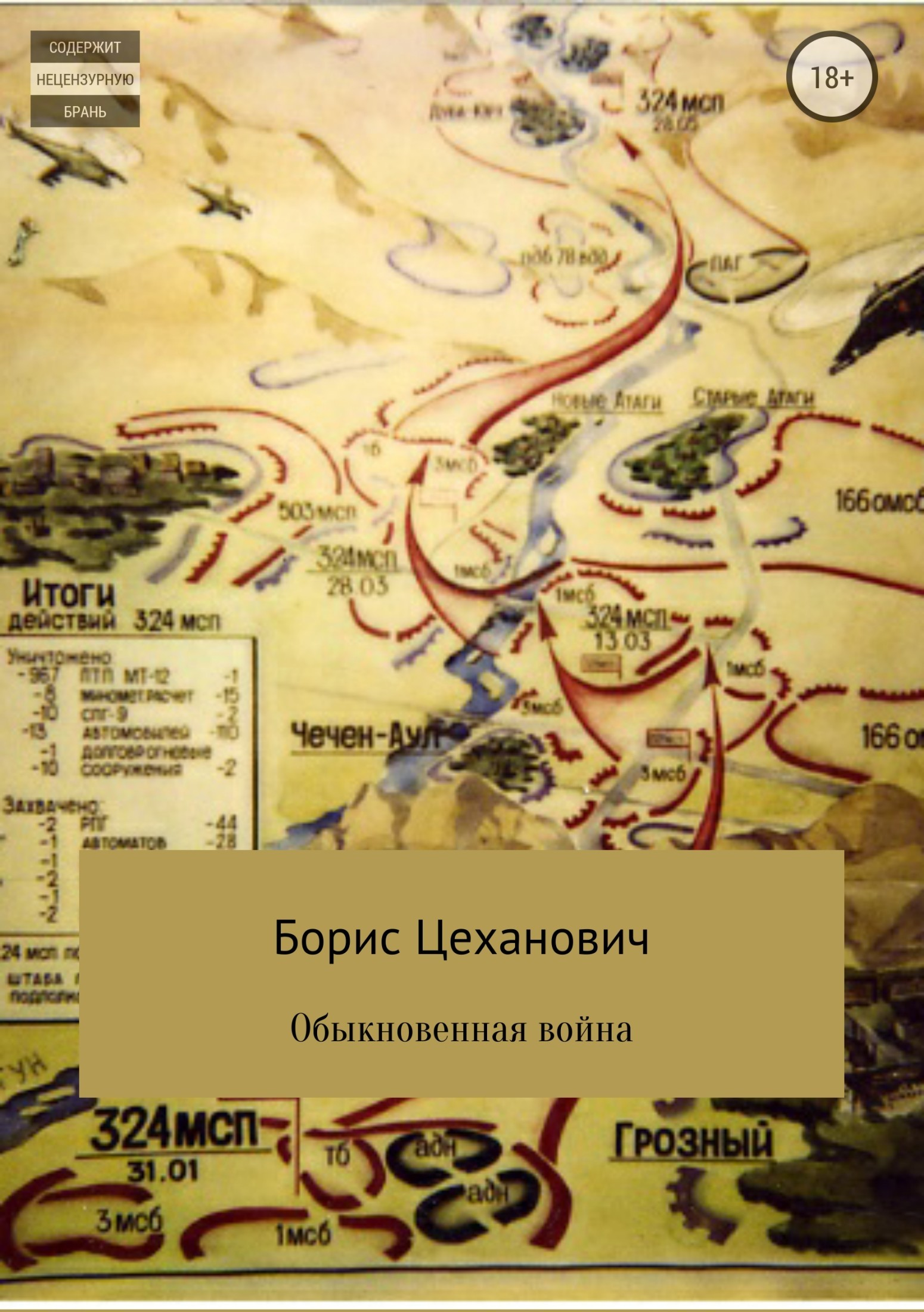 Борис Цеханович - Обыкновенная война