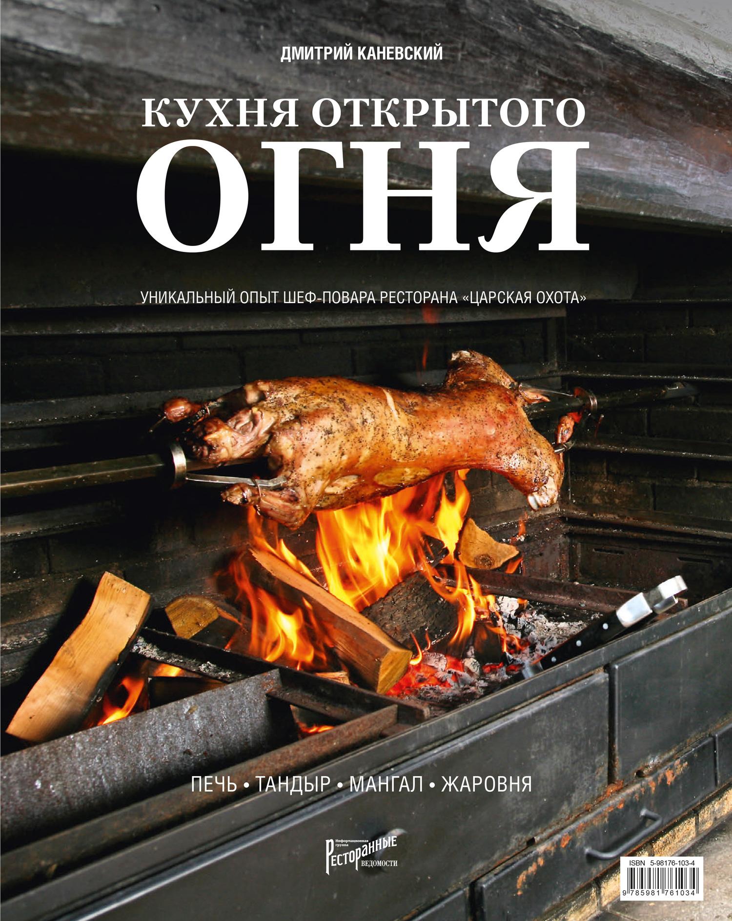 Дмитрий Каневский Кухня открытого огня: печь, тандыр, мангал, жаровня