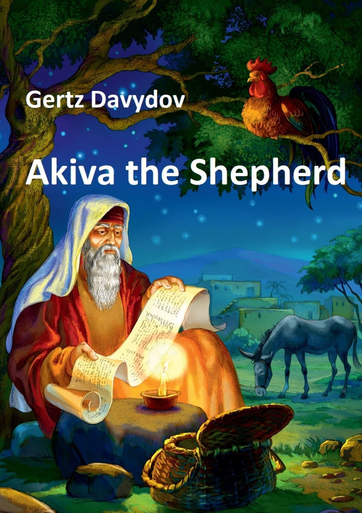 Gertz (Gertcel) Davydov Akiva The Shepherd. English edition