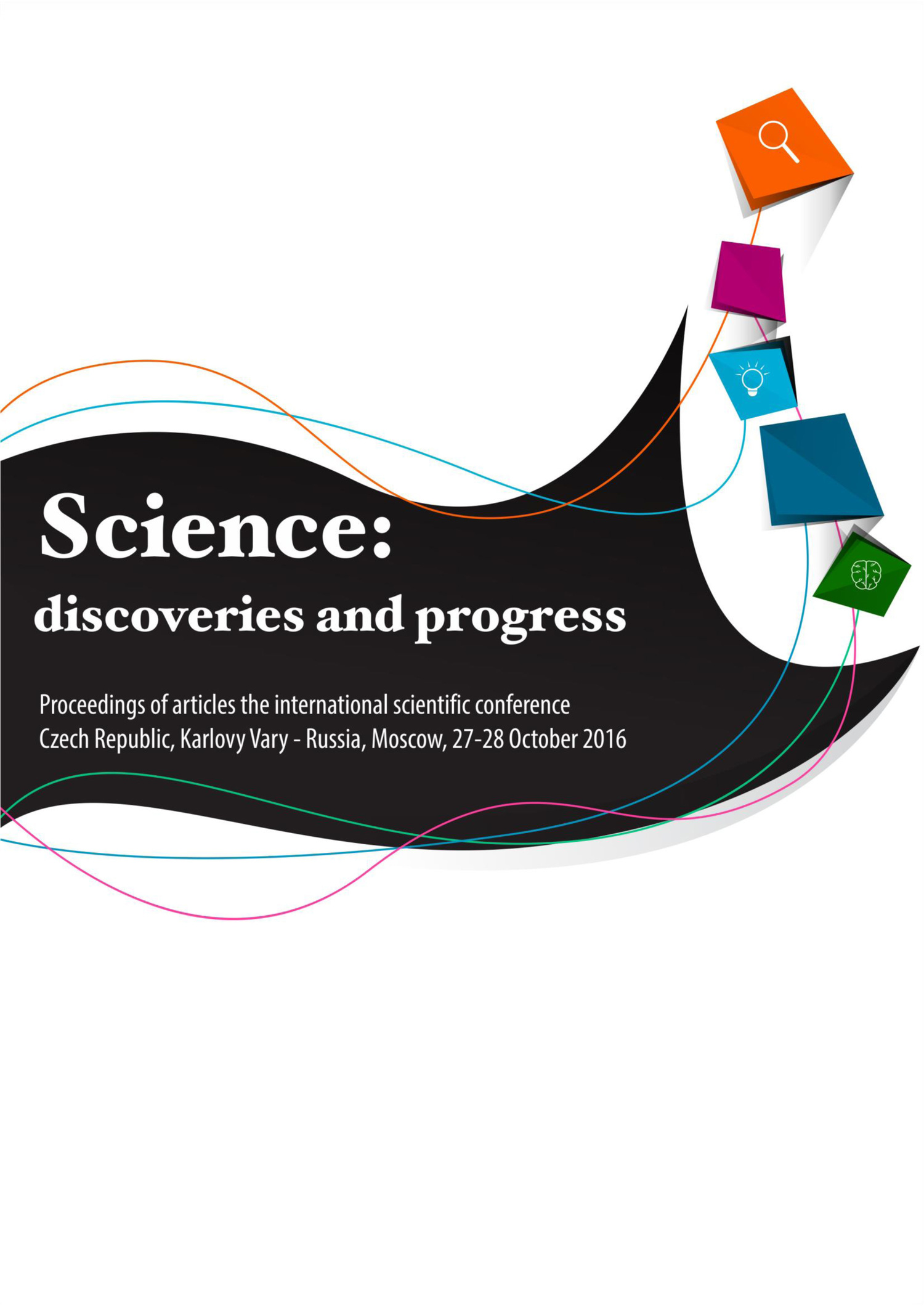 Сборник статей Science: discoveries and progress. Proceedings of articles the international scientific conference. Czech Republic, Karlovy Vary – Russia, Moscow, 27-28 October 2016