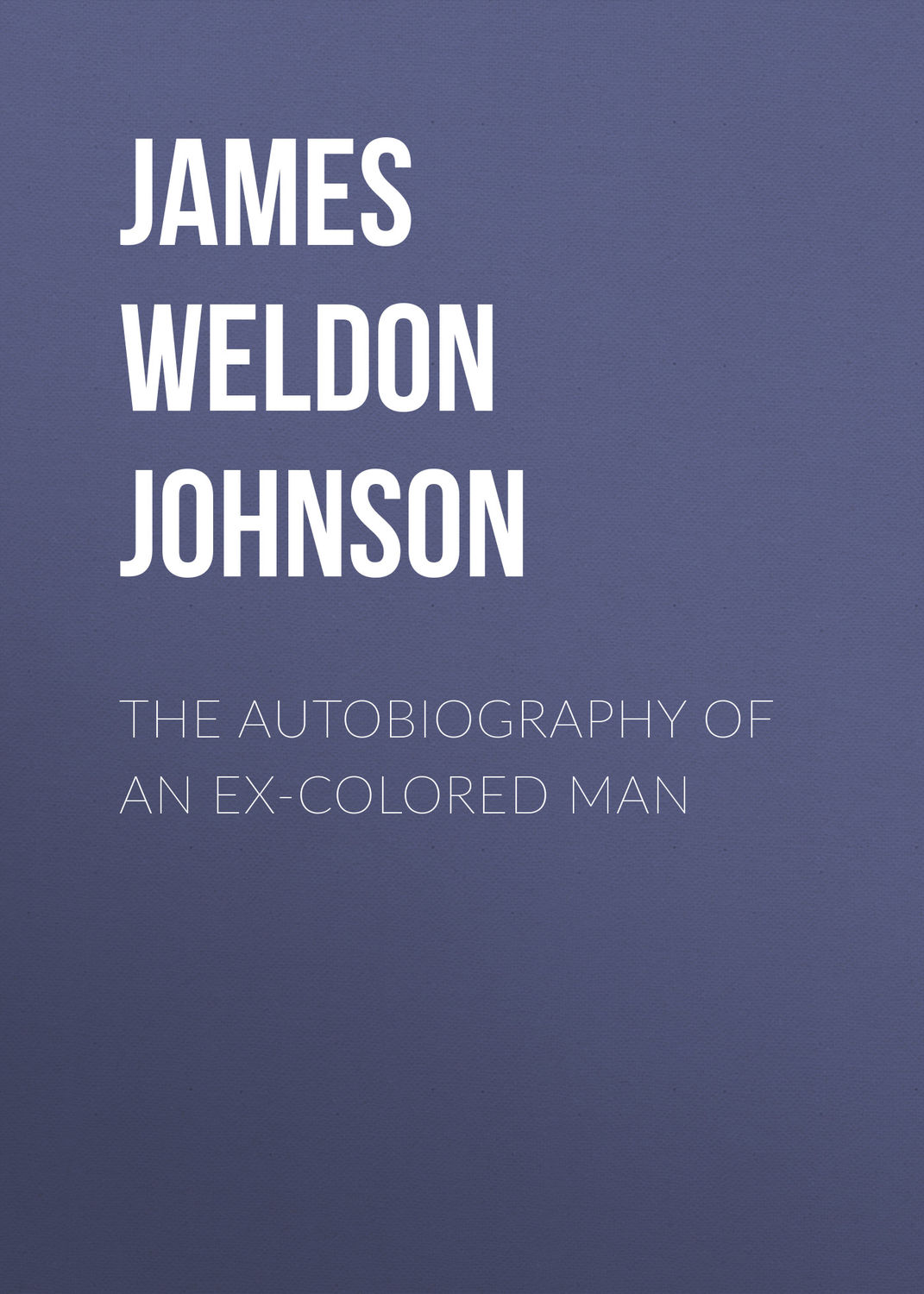 critical essays on the autobiography of an ex-colored man Free essays on the autobiography of an ex colored man get help with your writing 1 through 30.