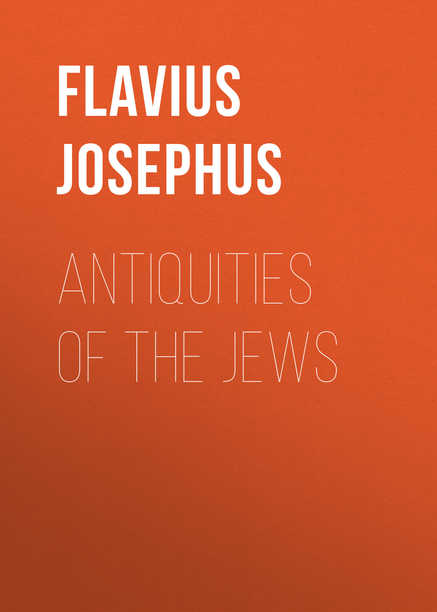 Flavius Josephus Antiquities of the Jews canarsie – the jews