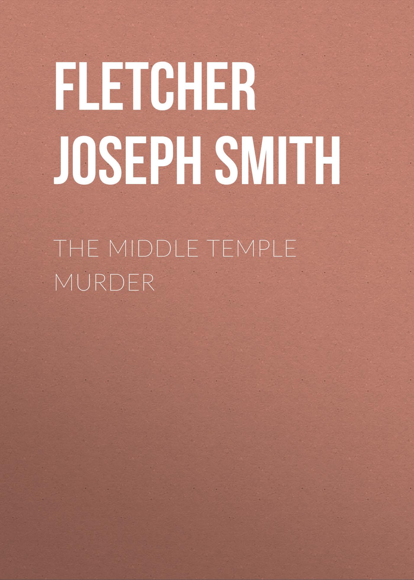 Fletcher Joseph Smith The Middle Temple Murder wedding cake murder