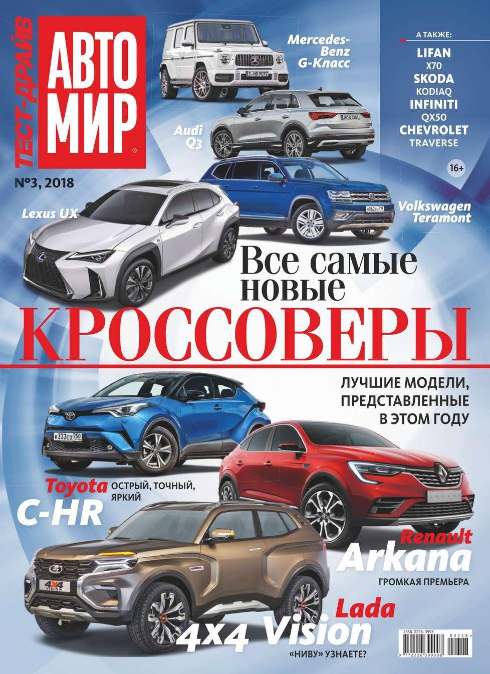 Автомир. Тест-драйв 03-2018