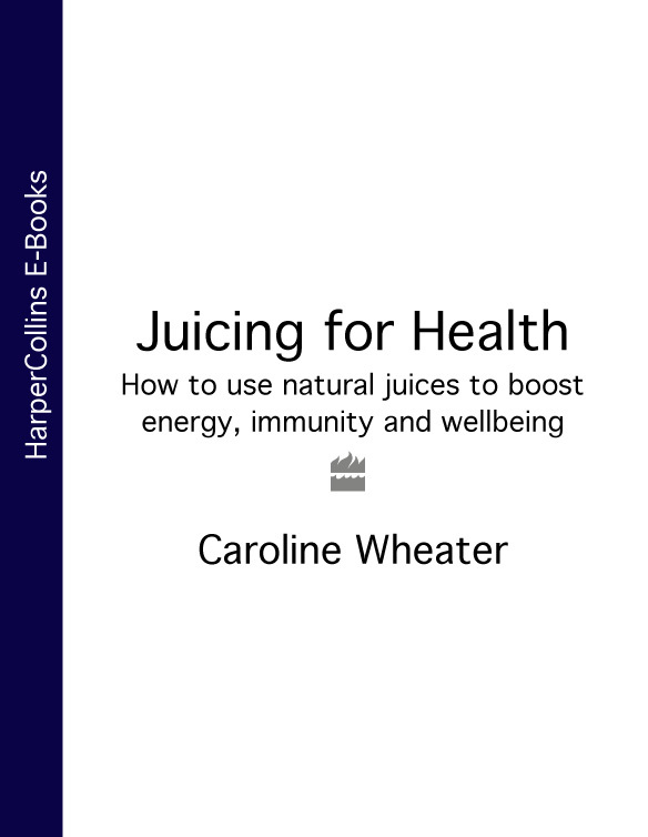 Caroline Wheater - Juicing for Health: How to use natural juices to boost energy, immunity and wellbeing