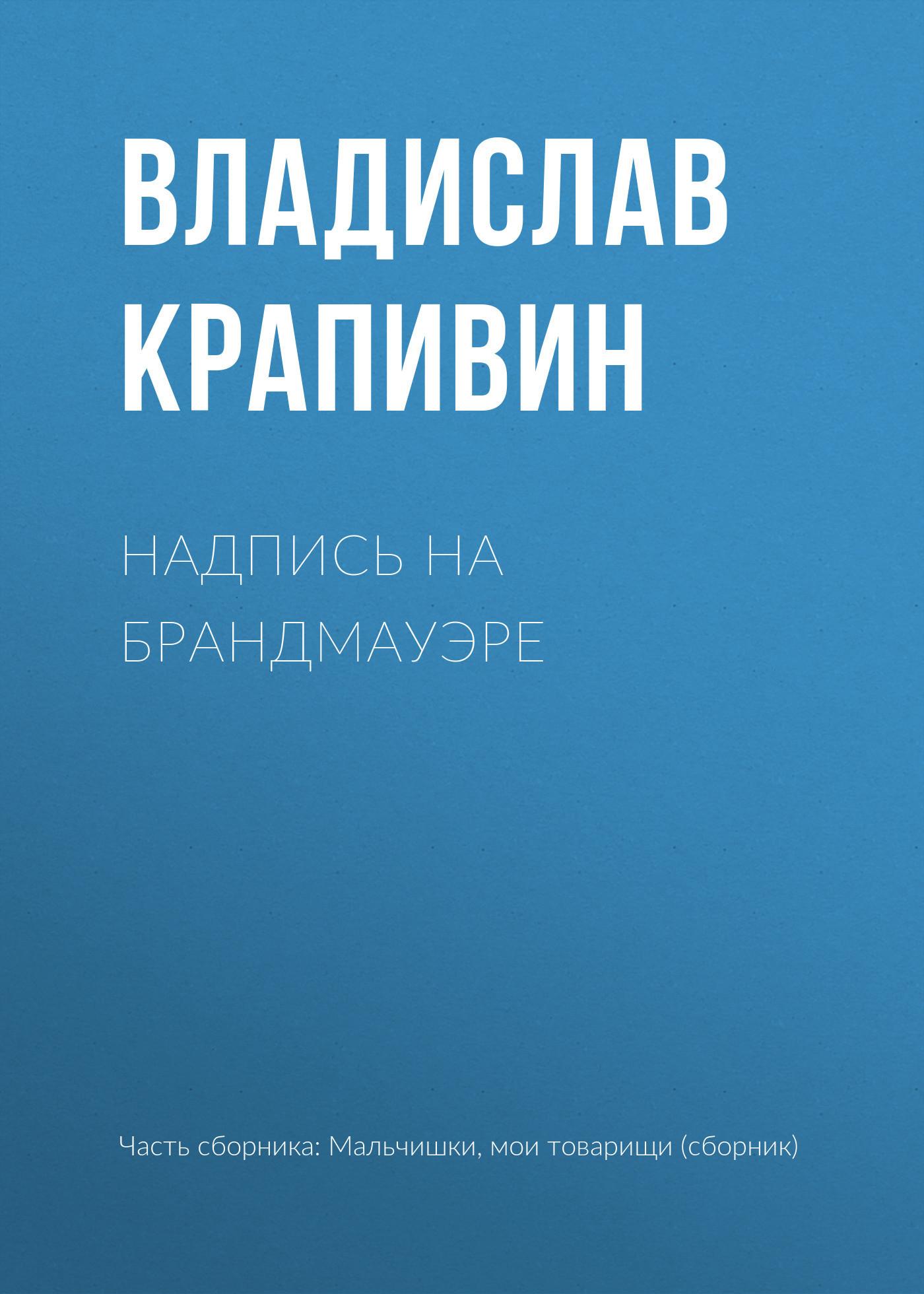 Владислав Крапивин - Надпись на брандмауэре