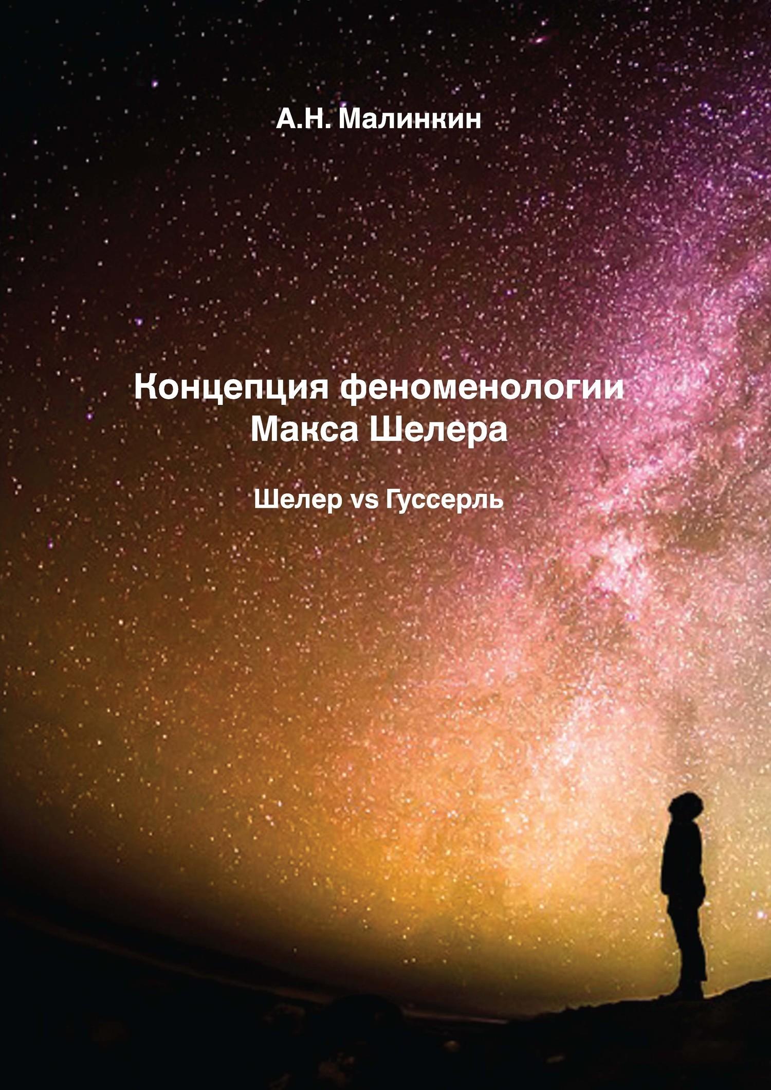 Александр Малинкин - Концепция феноменологии Макса Шелера. Шелер vs Гуссерль